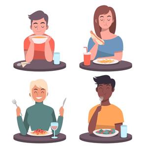 مزایای آرام غذا خوردن