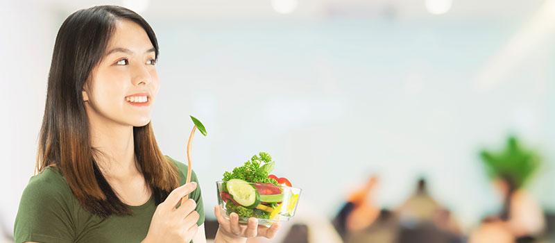 تقویت موها با رژیم غذایی