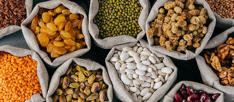نقش غلات در رژیم غذایی