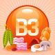 کمبود نیاسین یا ویتامین B3