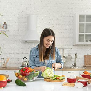 سبزیجات خام یا پخته در رژیم غذایی