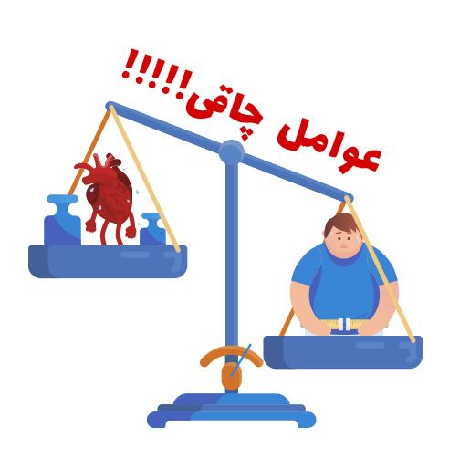 عوامل چاقی را بشناسید